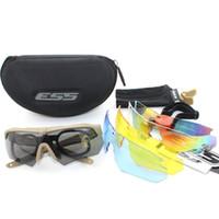 ballistic shooting glasses - Lens Brand Shooting glasses Crossbow Goggles Ballistic Military Sport Men Sunglasses Army Bullet proof Eyewear Outdoor Gafas