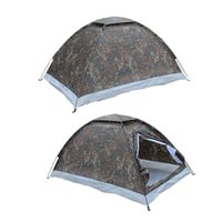 beach sports games - Outdoor Sport Seaside Beach Camping Portable Person Single Layer Carpas Camouflage Waterproof Tents cm