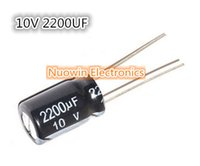 Wholesale UF V Electrolytic Capacitor V UF Aluminum Electrolytic Capacitor X17mm