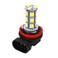 Wholesale Driving Fog Lights H11 H8 Bulb White LED SMD DC12V Car styling LED lamps for cars Universal Headlight