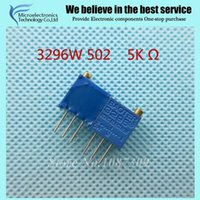 Wholesale W LF W k ohm Top regulation Multiturn Trimmer Potentiometer High Precision Variable Resistor