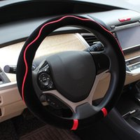 Wholesale The New Car Fashion Colorful Plush Winter Warm Wheel Cover Automobiles Steering Wheel Covers Car Interior Accessories