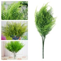 asparagus fern plant - 7 Branches Artificial Asparagus Fern Grass Plant Flower Home Floral Accessories