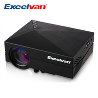 portable digital tv - Excelvan GM60 MINI Portable LED Projector For Video Games TV Home Theater Movie Support HDMI VGA AV SD GM60