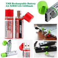 aa life - USB Rechargeable Battery USBCELL Rechargeable AA NiMH Battery v mah Price Support With Long Life