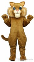 activities boots - ohlees actual picture sport animal MISS BOOTS lion Mascot costume for Halloween party activity Fancy christmas adult size