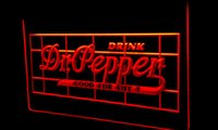 dr pepper - LS172 r Dr Pepper Drink Good For Life Neon Light Sign