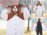 beagle costume - Adult Beagle Pajamas New Animal Cosplay Costume Sleepwear Pyjamas Unisex Onesies Cartoon Sleepsuit