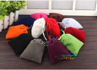 Wholesale Christmas Wedding Voile Gift Bag Organza Bag Jewelry Packing Gift Pouch Dra Gift Bag Colorful Velvet Draw String Bag Kids Gift Bag