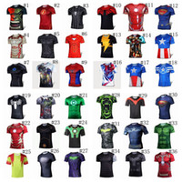 t shirts - 52styles t shirt Deadpool Batman spider man captain America Hulk Iron Man t shirt The Avengers d t shirts for men t shirts BY DHL
