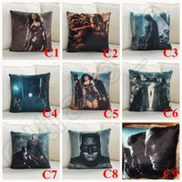 big couches - 2016 New Batman v Superman Dawn of Justice Movie Characters Print Couch Pillows Solid Throw Pillows Stuffed Plush Toy LJJJ79