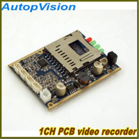 Wholesale CH Mini HD DVR PCB Board Support Power up Record Motion Detect Record etc