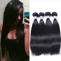 best hair perms - Brazilian Hair A Best Quality Human Hair Weaves Unprocessed Peruvian Malaysian Indian Cambodian Straight Hair Extensions Accept Return
