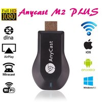Wholesale Anycast M2 Plus DLNA Airplay WiFi Miracast Dongle HDMI Multidisplay P Receiver AirMirror Mini TV Stick ezCast For iOS Andriod Windows