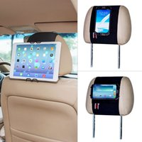 Wholesale TFY Universal Smartphone Tablet Pc Car Headrest Mount Holder iPad Mini iPhone s iPhone Plus Samsung Galaxy Tab