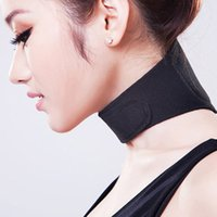 band braces - 1Pc Magnetic Therapy Vertebra Protection Neck Massager Spontaneous Heating Belt Band Neck Support Brace To Relieve Neck Pain