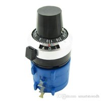 Wholesale Electronic KOhm S L With Turn Counting Dial Rotary Potentiometer Pot Turn B00371 SPDH