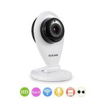 Wholesale Sricam SP009 HD P Mini Small IP Camera Wifi P2P PNP Smatphone Monitor White Fast Ship From US