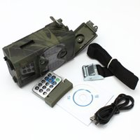 Wholesale Full Automatic IR Filter MP MMS GSM GPRS E mail SMS Command Night Vision Hunting Camera HC300a