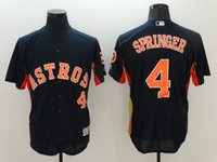 astros baseball team - New Flexbase Baseball Jerseys Astros Springer Jersey Navy Collection Team Jersey Size Mix Order All Flex base Jersey