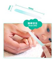 Wholesale Baby baby nail scissors nail clipper special anti meat nail clippers nail file newborn child safety