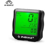 Wholesale LCD Bicycle Computer Waterproof Cycling Odometer Digital Speedometer With LCD Display Bike Computers Ciclocomputador Bicycle Accessories