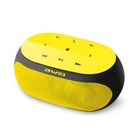 Wholesale Original Awei Y200 Bluetooth Speaker Wireless Sport Portable Mini Speakers for iphone samsung computer support TF card AUX Channel