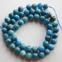 apatite beads - 1 Strand of mm Apatite Round Loose Bead inch