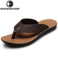 active fabric - 2016 fashinal camel active Mens slippers leather shoes flip flops beach shoes drop shipping