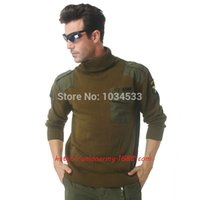 air hawk - Airborne Cotton Cashmere Sweater US Air Force Pilot Hawk Style Army Warm Turtleneck Sweaters Colors
