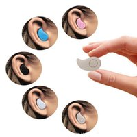 Wholesale For iphone S7 Sport Running S530 Mini Stealth Wireless Bluetooth Earphone Stereo Headphones music Headset Retail Box