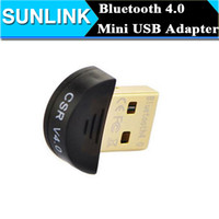 Wholesale Top Quality Mini USB Bluetooth Adapter V4 Dual Mode Wireless Bluetooth Dongle High Gain CSR For Win7 XP SV20