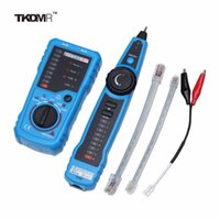 Wholesale Multifunction RJ11 RJ45 Telephone Wire Tracker Tracer Ethernet LAN Network Cable Tester Detector Line Finder Repair Tool