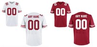 49ers - HOT SALE Men s San FCC ers Custom Elite Football Jerseys High Quality Stitched Any Name and Number You Decide Two Colors Allowed
