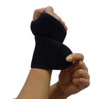Wholesale Universal Thumb Loop Wrist Support Brace Crossfit Wrist Wraps Gym Bandage Straps Weight Lifting Protection for Men Women