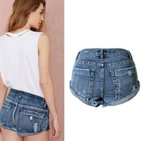 Wholesale New Fashion Women s Jeans Summer High Waist Stretch Denim Shorts Slim American Casual Women Jeans Shorts Hot Plus Size NZ0021