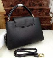 bb names - 2016 Latest style Handbag small Shoulder bag CAPUCINES BB Bag Luxury Brand Name Purse Genuine Leather Handbag Real Leather Bag