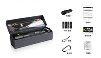 Wholesale Focusing LED Flashlight P14 Led P14 LM Flashlight Tactics Hand Torch Mixed Order xAA batteries in gift box