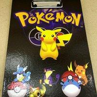 Wholesale Poket monster Folding board poket ball Pikachu Splint painting Splint A4 Folding board factory price