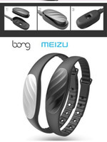 alarm clock bracelet - Original Meizu Bong P Wristband Smart Bluetooth Bracelet Waterproof Pedometer Alarm Clock Call Reminder for Android iOS