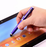 accessories for torch - Hot new in Laser Pointer LED Torch Touch Screen Stylus Ball Pen for iPhone