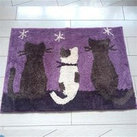 Wholesale Hot sale Polyester Micro fiber bath mat for bathroom home use with