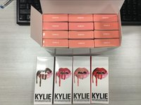 Wholesale NEW Kylie Lip Gloss Lipstick Boxset Lipstick Lipliner Kylie Jenner Matte Lipstick colors Avaialable now