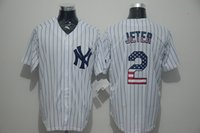 american flag shorts men - Men s Baseball Jerseys with American flag pattern Jersey New York NY Yankees Jerseys Derek Jeter Rodriguez sabathia