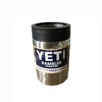 beer bottle tray - Water Bottles oz YETI Rambler Colster Vacuum Insulated Tumbler Mugs Stainless Steel Car Beer Cup