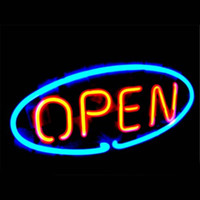 Wholesale OPEN Word DIY LED Neon Sign Glass Flex Rope Light LED Indoor Outdoor Decoration RGB Voltage V V