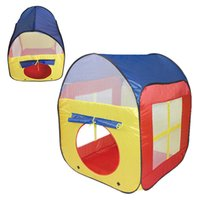 Wholesale Prettybaby Children Kids Play beach Tents Outdoor Garden Folding Portable Toy Tents Indoor Pop Up colorful Independent House Pt0388 mi