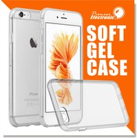 achat en gros de iphone case-Pour Iphone 7 S8 S8 plus Samsung S7 Iphone 6s Crystal Gel Etui pour iPhone 6s Plus ultra-mince transparente Soft TPU Cases Note 5 Clear Cases