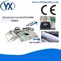 assembly line machines - Supply SMT Machine Pick and Place Machine TVM802B With SMD Components For Assembly Production Line With Smt Stick Feeders