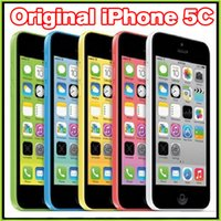 Wholesale Original Refurbished Unlocked Apple iPhone C Cell Phones GB GB Dual Core MP Camera quot Smartphone VS iPhone S S Plus